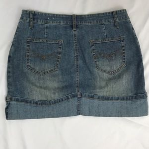 rave Skirts - Rave R4R- stretch denim skirt size 9